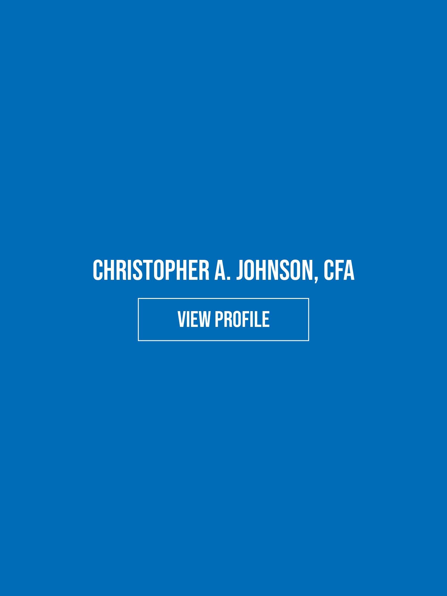 CHRISTOPHER A. JOHNSON, CFA